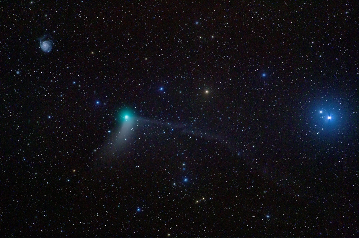 comet-catalina-pinwheel-galaxy